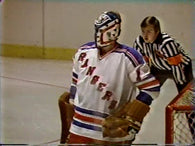 February 12, 1981 Winnipeg Jets - 6 @ New York Rangers - 8