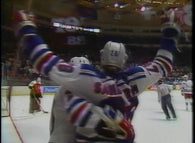 April 12, 1987 Gm#4 Philadelphia Flyers - 3 @ New York Rangers - 6