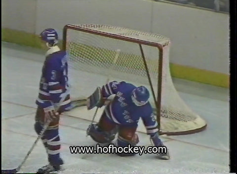 April 6, 1986 New York Rangers - 4 @ Washington Capitals - 4 JohnVanbiesbrouck