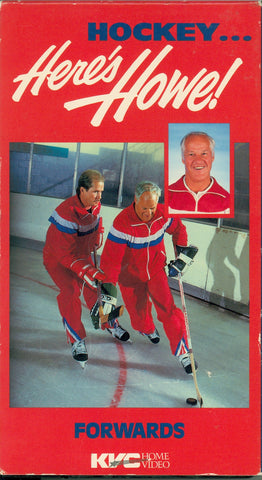 Here's Howe Forwards Video Gordie Mark Marty Training Volume 2 Mister Hockey VHS Tape Whalers