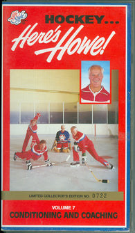 Here's Howe Conditioning and Coaching Gordie Mark SIGNED Ed Giacomin VHS Video Tape Volume 7