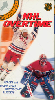 NHL Overtime VHS Tape Mark Messier Patrick Roy Bobby Orr