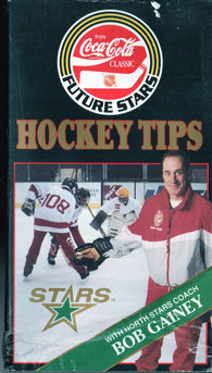 Bob Gainey Minnesota North Stars VHS Tape Future Stars Hockey Tips Coca-Cola