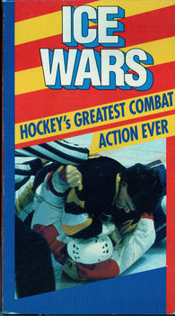 ICE WARS VHS Tape Hockey's Greatest Combat Action Ever! The Battle is On.