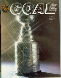 April 11, 1982 Game Four New York Rangers - 7 @ Philadelphia Flyers - 5 GOAL Program