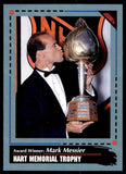 1992 Mark Messier New York Rangers SCORE #521 NHL Hockey Card