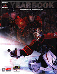 2008-09 Florida Panthers Team Yearbook Craig Anderson Wade Belak Radek Dvorak Bryan McCabe