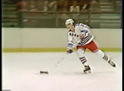 February 18, 1982 Colorado Rockies - 4 @ New York Rangers - 4