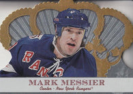 2000-01 Crown Royale Rangers Hockey Card #71 Mark Messier