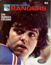 December 30, 1979 Washington Capitals - 2 @ New York Rangers - 5 Don Murdoch