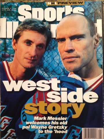 October 7, 1996 Sports Illustrated Magazine Gretzky Messier