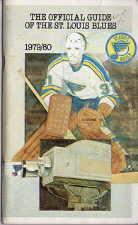 1979-80 St. Louis Blues Media Guide Bernie Federko Mike Liut Brian Sutter Wayne Babych Mike Zuke
