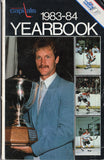 1983-84 Washington Capitals Media Guide Rod Langway Mike Gartner Scott Stevens Bobby Carpenter