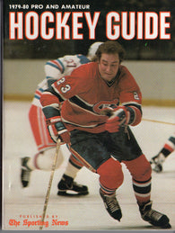 1979-80 NHL Sporting News Hockey Guide Book Bob Gainey Wayne Gretzky WHA Mark Messier Denis Potvin