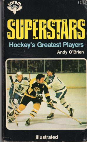 1973 Superstars Hockey's Greatest Players Book Phil Esposito Gordie Howe Bobby Orr Rod Gilbert