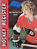 1973-74 The Sporting News Hockey Register Book Bobby Clarke Statistics Players Goalies Awards