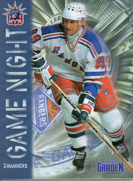 1998-99 New York Rangers Game Nigh Program Wayne Gretzky Mike Richter Brian Leetch Adam Graves
