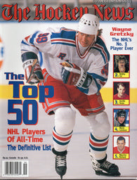 1998 The Hockey News Top 50 NHL Players of All-Time Collector's Issue Magazine Wayne Gretzky