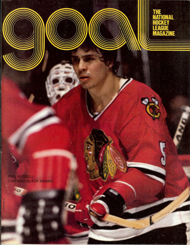 January 7, 1979 Washington Capitals - 3 @ Chicago Blackhawks - 5 Tony Esposito