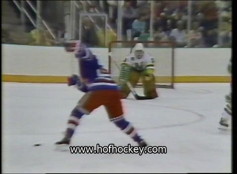 March 30, 1987 New York Rangers - 6 @ Minnesota North Stars - 5