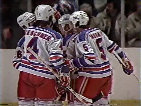 March 21, 1981 Quebec Nordiques - 7 @ New York Rangers - 7