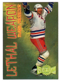 1996-97 Metal Universe Lethal Weapons Super Power #13 Mark Messier