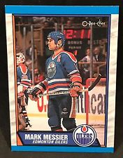 1989-90 Mark Messier Edmonton Oilers #65 O Pee-Chee NHL Hockey Card