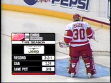 December 28, 2006 Detroit Red Wings -7 @ Columbus Blue Jackets - 4  Sergei Fedorov Pavel Datysuk Nicklas Lidstrom