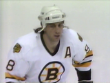 April 19, 1991 Montreal Canadiens - 4 @ Boston Bruins - 3 OT Gm#2 Cam Neely Ray Bourque Patrick Roy