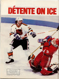 February 23, 1987 Sports Illustrated Magazine Rendez-Vous 87 Grant Fuhr Michel Goulet