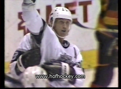 November 15, 1988 Vancouver Canucks - 4 @ Los Angeles Kings - 6 Wayne Gretzky