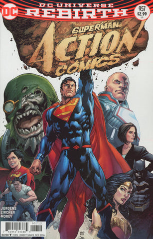 ACTION COMICS #957 2ND PTG