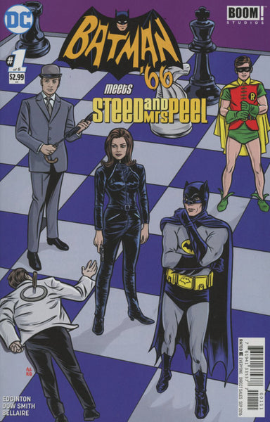 BATMAN 66 MEETS STEED & MRS PEEL #1 1st PRINT