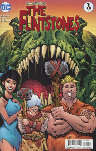 FLINTSTONES #1 COVER C WALTER SIMONSON BARNEY & BETTY VARIANT