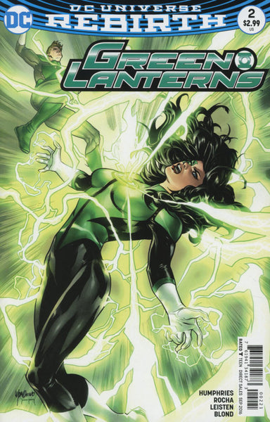 GREEN LANTERNS #2 COVER B EMANUELA LUPPACCHINO VARIANT