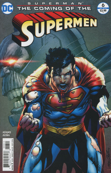 SUPERMAN THE COMING OF SUPERMEN #6 1st PRINT