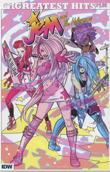 JEM & HOLOGRAMS #1 IDW GREATEST HITS ED