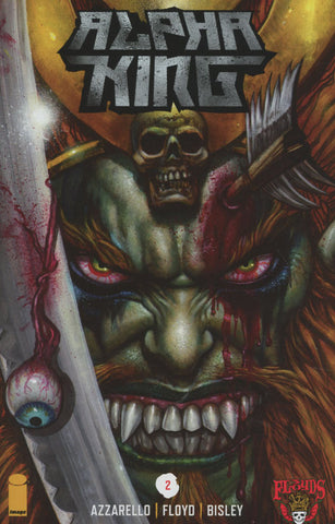 3 FLOYDS ALPHA KING #2 OF 5 1st PRINT COVER