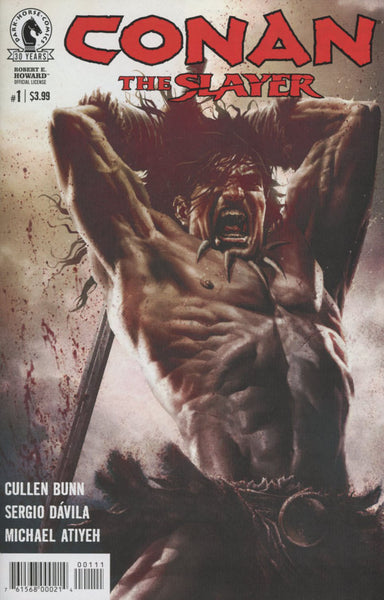 CONAN THE SLAYER #1 COVER A 1st PRINT