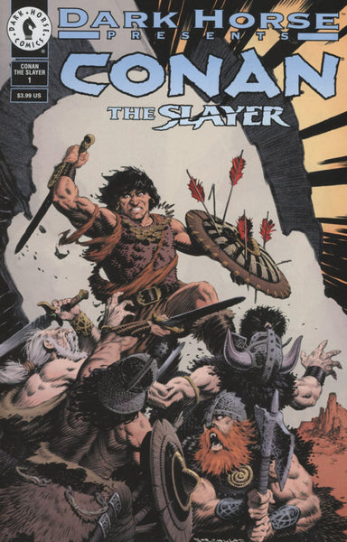 CONAN THE SLAYER #1 COVER B SHULTZE 30th ANNIVERSARY VARIANT