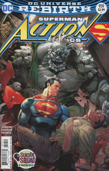 ACTION COMICS #959 COVER A CLAY MANN 1st PRINT