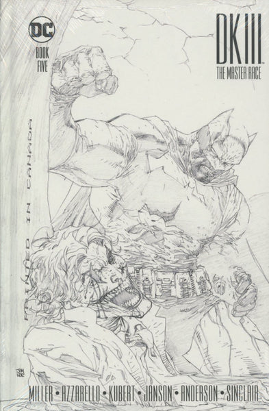 DARK KNIGHT III MASTER RACE #5 COLLECTORS EDITION HC