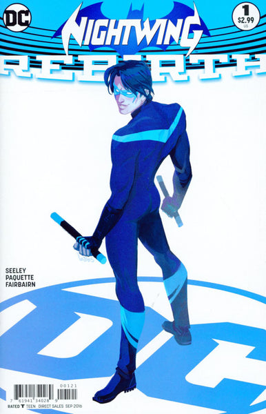 NIGHTWING REBIRTH #1 COVER B BABS TARR VARIANT
