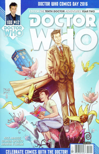 DOCTOR WHO 10TH YEAR TWO #12 CVR E DOCTOR WHO DAY