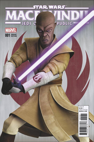 STAR WARS JEDI REPUBLIC MACE WINDU #1 (OF 5) ANIMA VAR