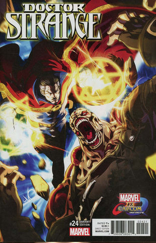 DOCTOR STRANGE #24 MARVEL VS CAPCOM VAR