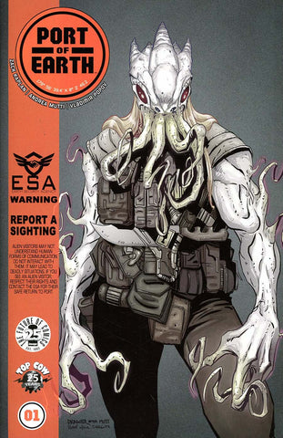 PORT OF EARTH #1 CVR B DRAGOTTA