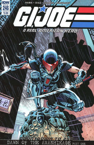 GI JOE A REAL AMERICAN HERO #246 CVR B ROYLE