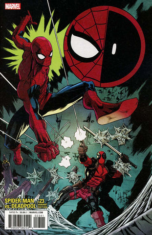 SPIDER-MAN DEADPOOL #23 HEPBURN VAR LEG