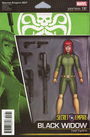 SECRET EMPIRE #7 (OF 9) CHRISTOPHER ACTION FIGURE VAR